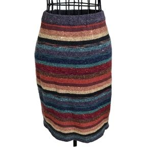 VTG Adrienne Vittadini Alpaca Wool Stretch Skirt